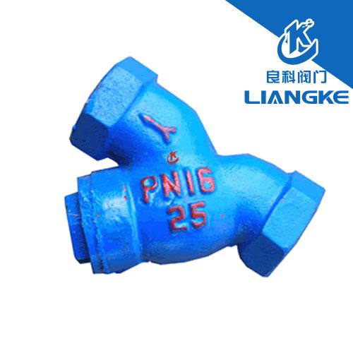 GL11H-16内螺纹联接Y型过滤器